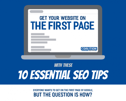 Get Your Website on the First Page with These 10 Essential SEO Tips | Coalition Technologies