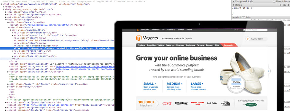 Magento Enterprise Developers in Los Angeles and Seattle