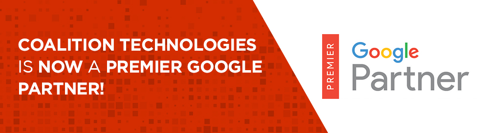 Coalition Technologies is Now a Premier Google Partner!