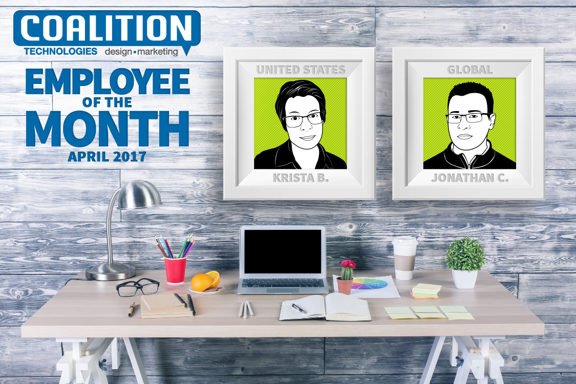 Employees of the Month - April