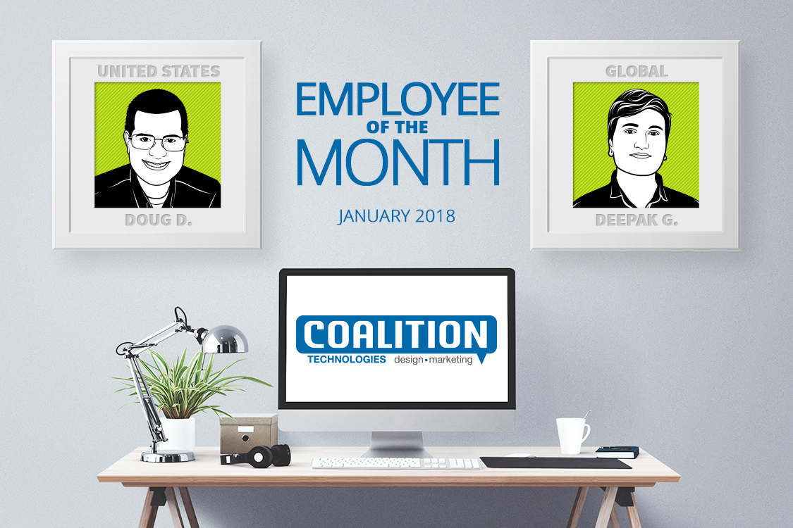 Employee of the Month - January 2018