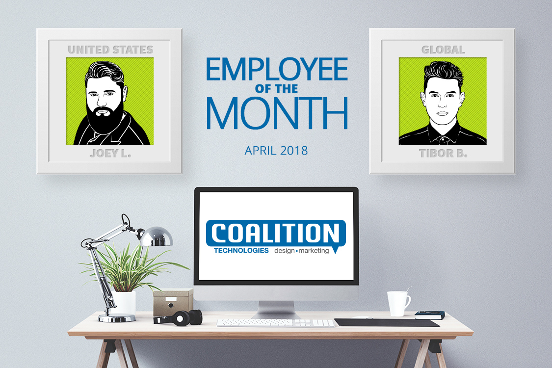 Employees of the month - April 2018