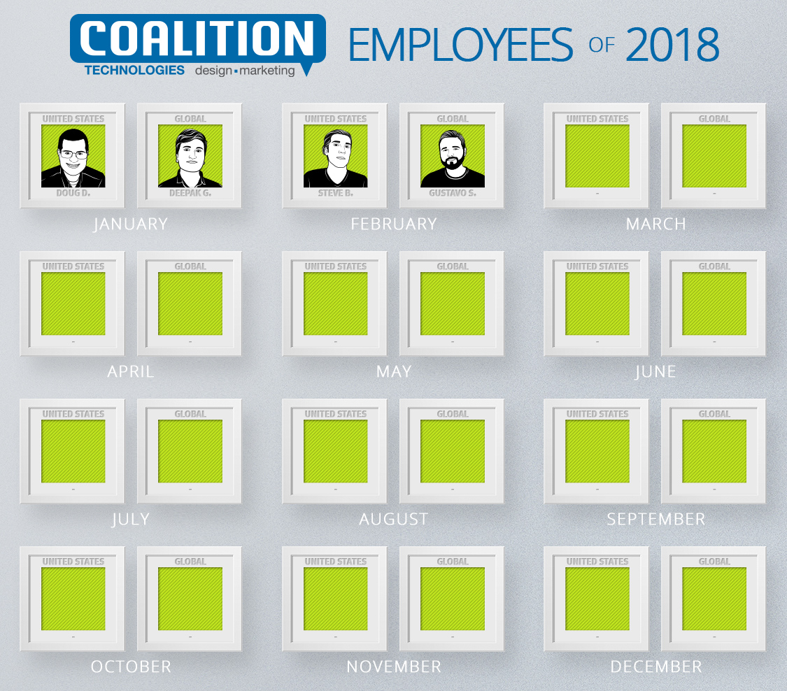 Employees of the Year - February 2018