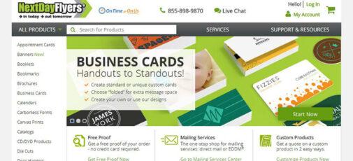 postcard press next day flyers los angeles web designers