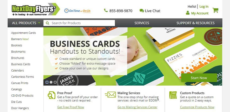 Postcard press next day flyers los angeles web designers challenge colourmoves