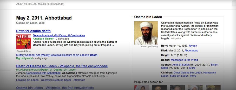 Osama Bin Laden - Dead