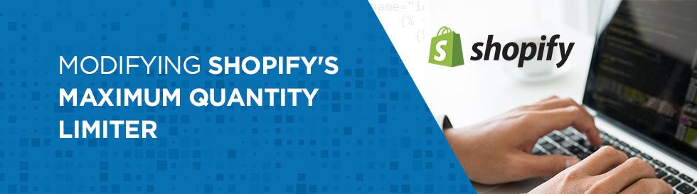 Shopify Maximum Quantity Limiter