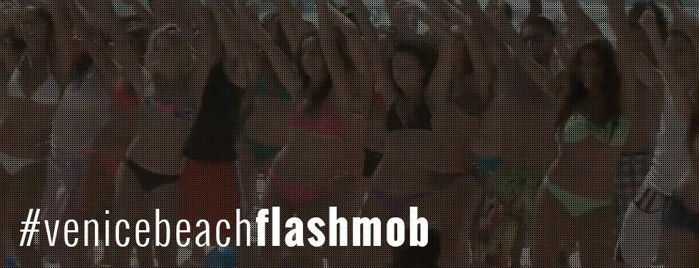 Venice Beach, CA Flash Mob