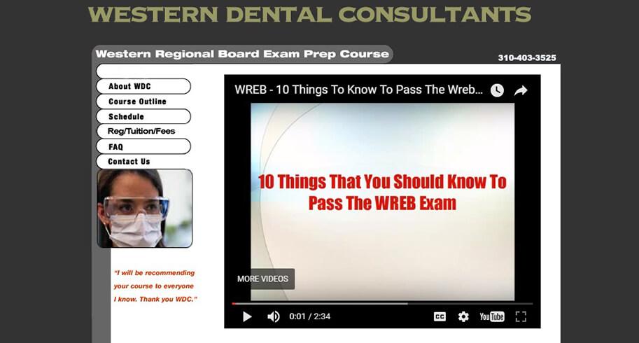 Western Dental Consultants | Los Angeles Web Designers